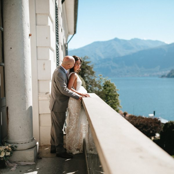Crissy + Tommy | Elopement in Lake Como, Italy