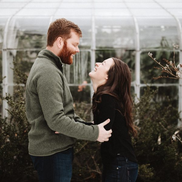 Kelly + Alex | Rochester, NY Highland Park Engagement Session